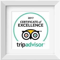 Yangshuo Village Inn TripAdvisor cetrificate of excellence